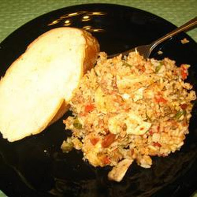 Juicy Jambalaya Casserole