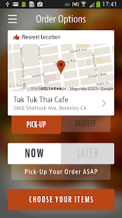 The Tuk Tuk Thai Cafe - screenshot