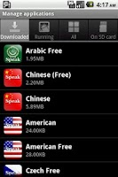 Screenshot of Speak Arabic Free