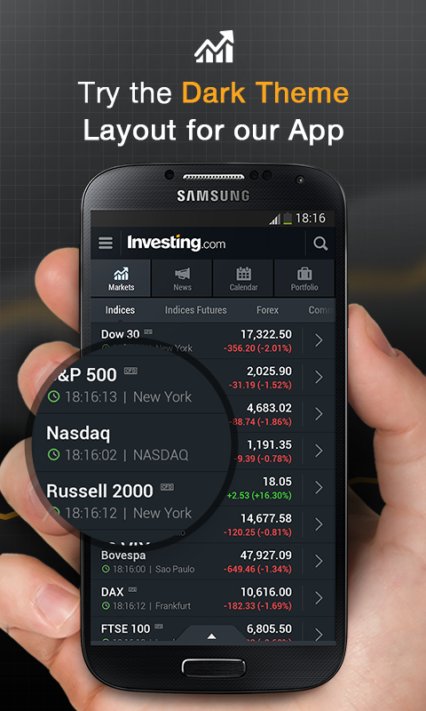 Stocks, Forex, Futures & News Screenshot