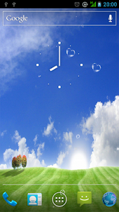 Blue Sky Live Wallpaper - screenshot