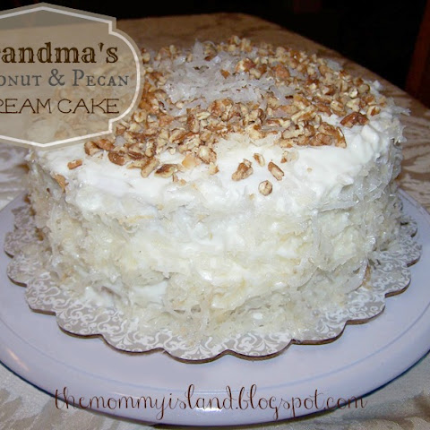 Coconut and Pecan Dream Cake