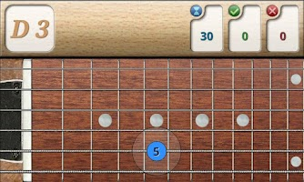 Screenshot of Music Tutor Fret Master