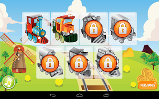 Screenshot of Kids ABC Letter Trains