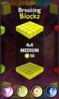 Screenshot of Breaking Blocks - 3D