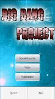 Screenshot of Big bang project lite