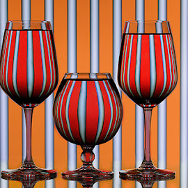 Caged  by Rakesh Syal - Artistic Objects Glass