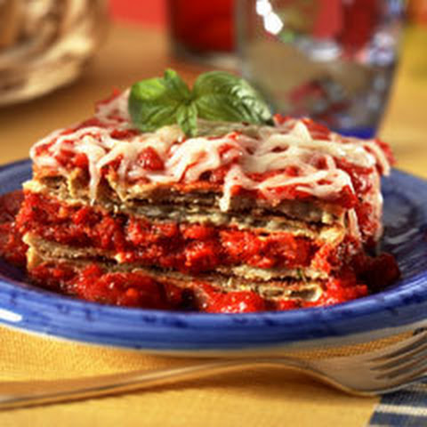 No Frying Eggplant Parmesan  (18 Servings)