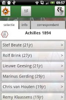 Screenshot of Voetbalnederland LiveUitslagen
