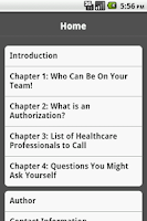 Screenshot of Your Healthcare Team