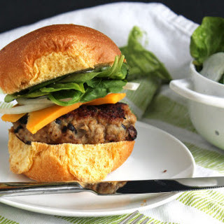 Black Bean Turkey Burgers