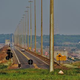 Dam Ilha Solteira - Selviria MS by Marcello Toldi - Buildings & Architecture Bridges & Suspended Structures