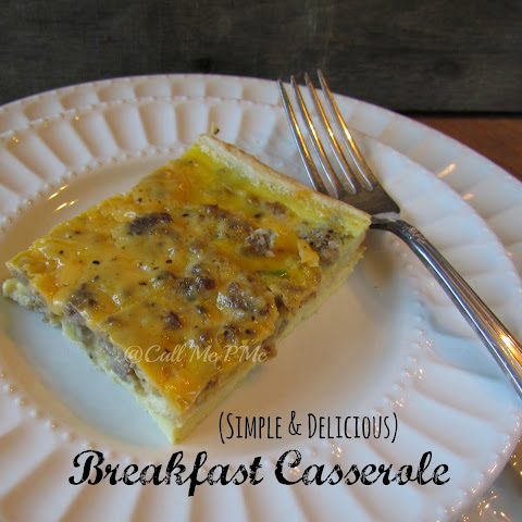 The Best Breakfast Casserole Recipe / Call Me PMc