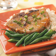Mustard-Apricot Pork Chops Recipe