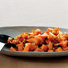Butternut Squash with Shallots and Sage