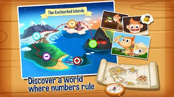 Screenshot of Monkey Math Free - Kids Games