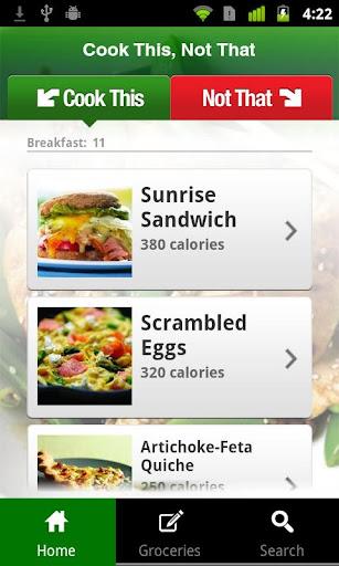 【免費健康App】Cook This, Not That-APP點子