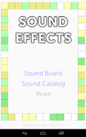 Screenshot of Sound Effects