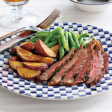 Grilled Steak with Roasted Potatoes