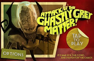 Screenshot of Attack of Ghastly Grey Matter!