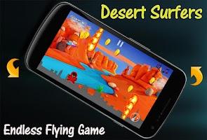 Screenshot of Desert Surfers Game
