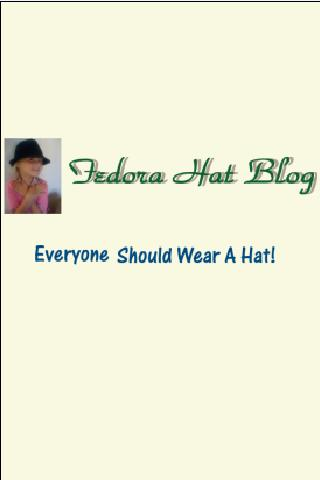 Fedora Hat App