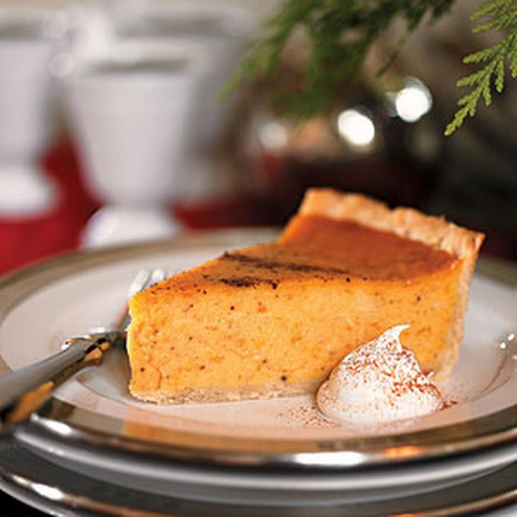 Cardamom-Scented Sweet Potato Pie Recipe | Yummly