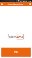 Screenshot of Formdesk Barcode Scanner