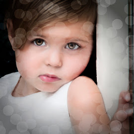 Bokeh Dream by Anthony Wood - Babies & Children Child Portraits ( children portrait, girl, children, bokeh )