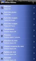Screenshot of Météo Nantes