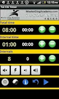 Screenshot of Master Ding Tai Chi Timer