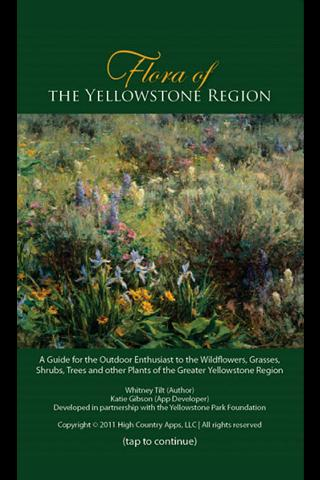 Flora of Yellowstone Region