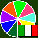 Colores en italiano icon