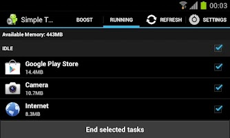 Screenshot of Simple Task Manager Free