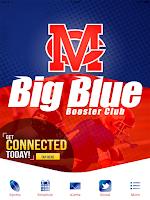 Screenshot of Madison Central Big Blue Club