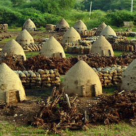 Coal making huts by Siva Peddineni - Buildings & Architecture Homes
