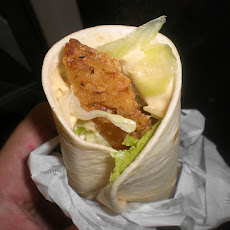 Swiss Chicken Wrap With Honey Mustard Sauce