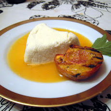 Limoncello Coeur à la Crème with Peach Rosé Sauce (inspired by Sunchowder)
