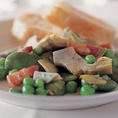 Stewed Spring Vegetables (La Vignarola)