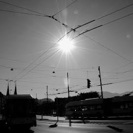 crossroads Bucherer., by Haji Wawan - City,  Street & Park  Street Scenes