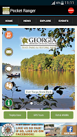 Screenshot of GA State Parks Outdoors Guide