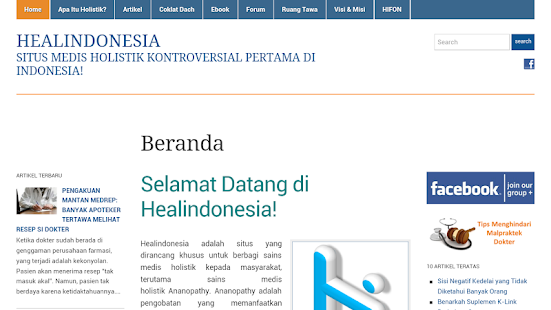 Healindonesia - screenshot