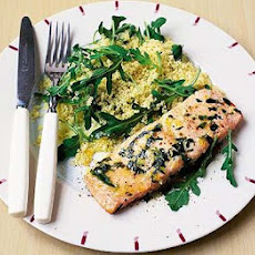 Lemon-rubbed Salmon