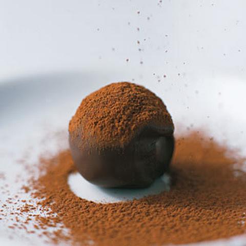 Dark Chocolate Toffee Truffles Recept | Yummly