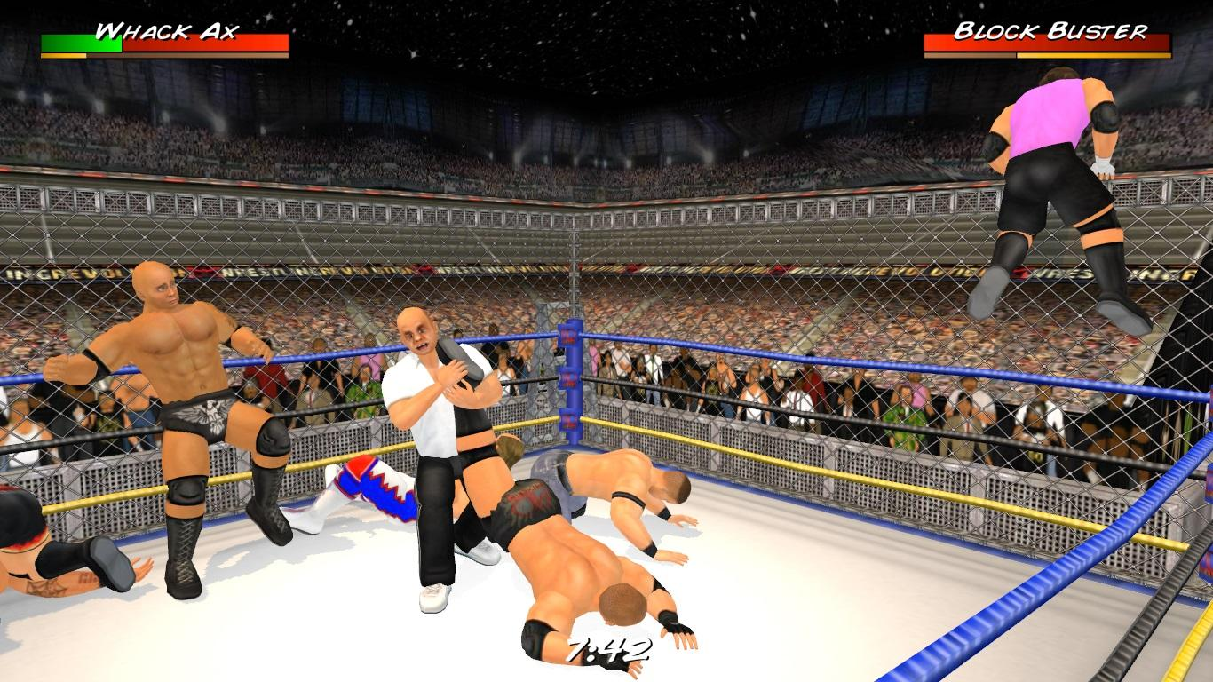 Wrestling Revolution 3D Screenshot 0
