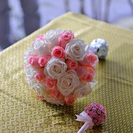 Bouquet Flower 2 by Cris Lhh - Wedding Other ( bouquet, wedding, outdoors, pink, flowers, flower )