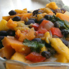 Mango and Black Bean Stew