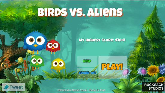 Birds vs Aliens - screenshot