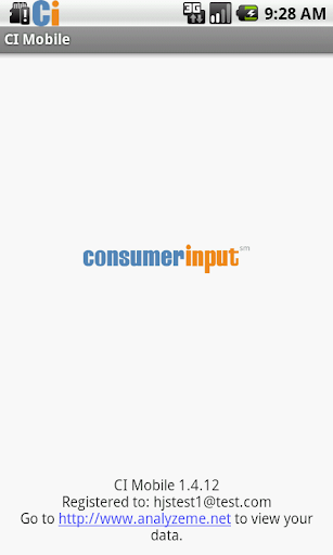consumerinput-mobile for android screenshot