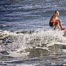 by Alice Gipson - Sports & Fitness Surfing ( surfer )